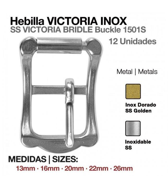 Hebilla Victoria Inoxidable 1501S-04 (12 Uds)