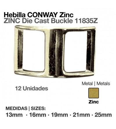Hebilla Conway Zinc 11835Z (12 Uds)
