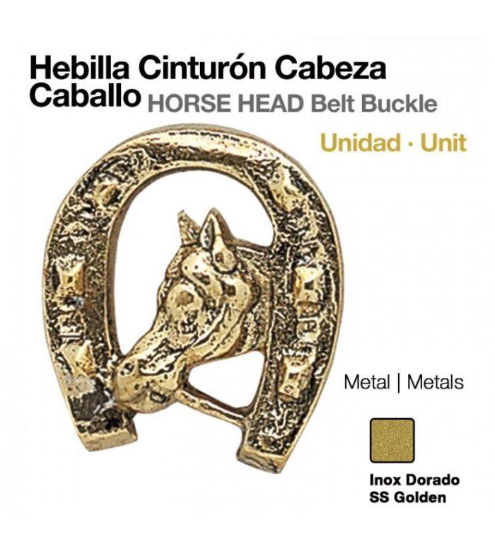 Hebilla para Cinturón Cabeza Caballo (Unidad)