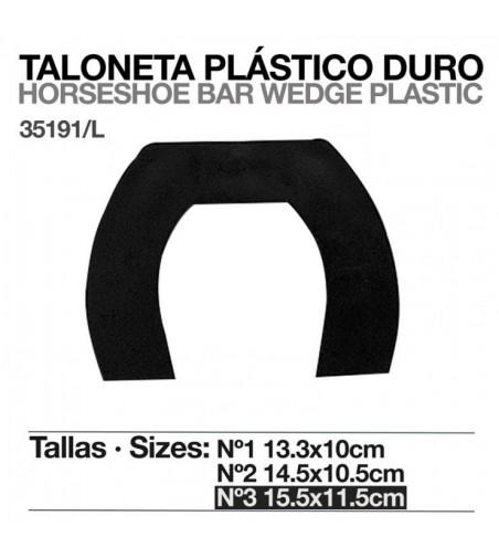 Taloneta de Plástico Duro 35191 (Unidad)