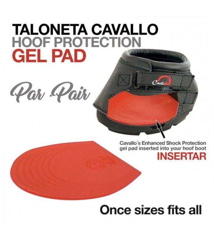 Taloneta Cavallo Gel Pad (Par)