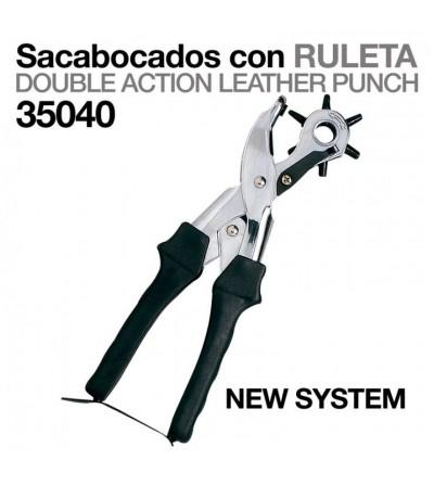 Sacabocados New System con Ruleta