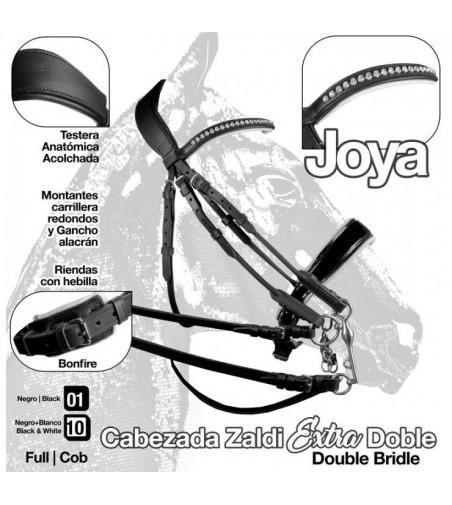Cabezada Joya Doble Rienda Zaldi Extra