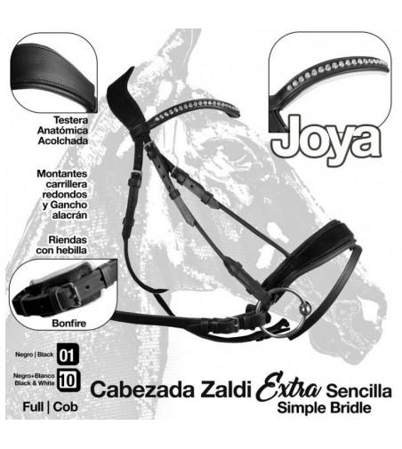 Cabezada Joya Simple Rienda Zaldi Extra
