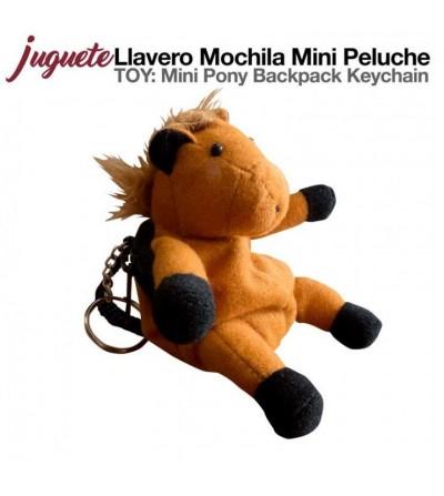 Juguete: Llavero Mochila Mini con Peluche GA00030