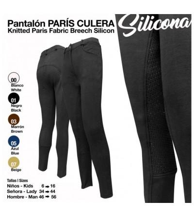 Pantalón París con Culera de Silicona Adulto/Niño
