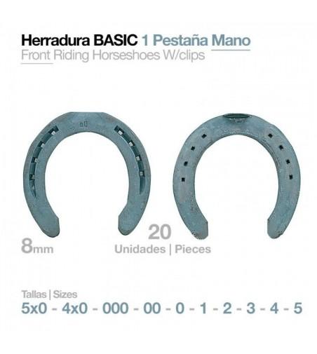 Herradura Básica Pony Anterior 7X0 V 18X8 (20Uds)