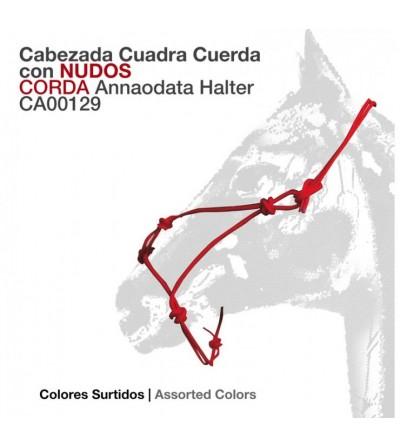 Cabezada de Cuadra Nudos Umbria Ca00129