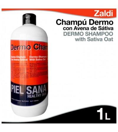 Champú Dermo con Avena Sativa 1L Zaldi