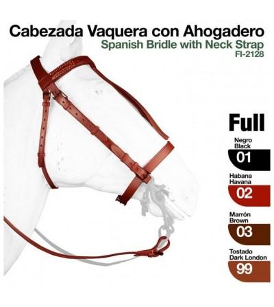 Cabezada Vaquera con Ahogadero 2128