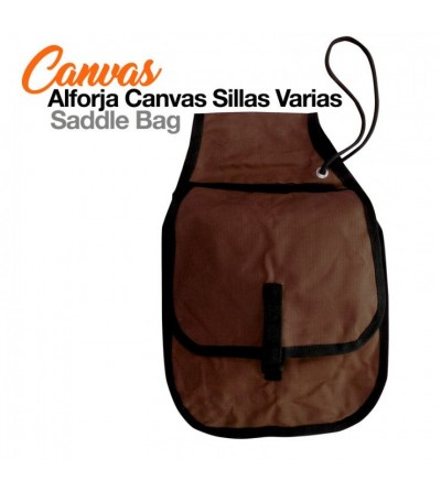 Alforja Canvas Sillas Varias