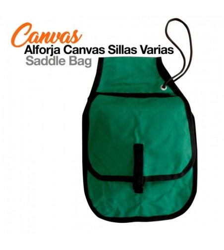 Alforja Canvas Sillas Varias