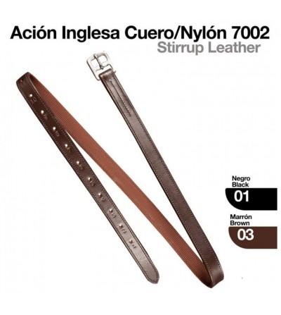 Ación Inglesa de Cuero/Nylon 7002