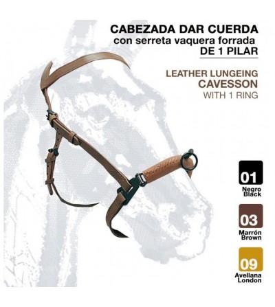 Cabezada Dar Cuerda C/Serreta Forrada 115