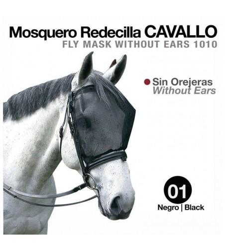 Mosquero Redecilla Cavallo Sin Orejeras Negro