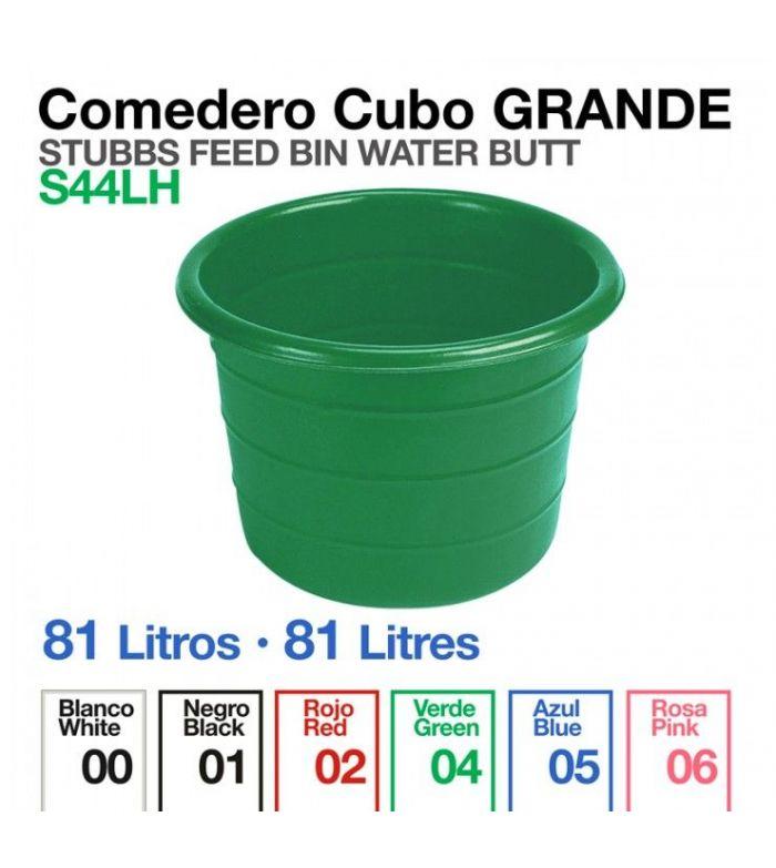 Comedero Cubo Grande Stubbs S44LH 81 Litros