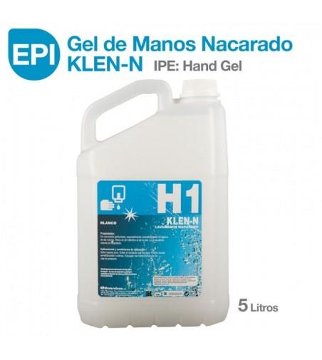 EPI: Gel de Manos Nacarado KLEN-N 5 litros