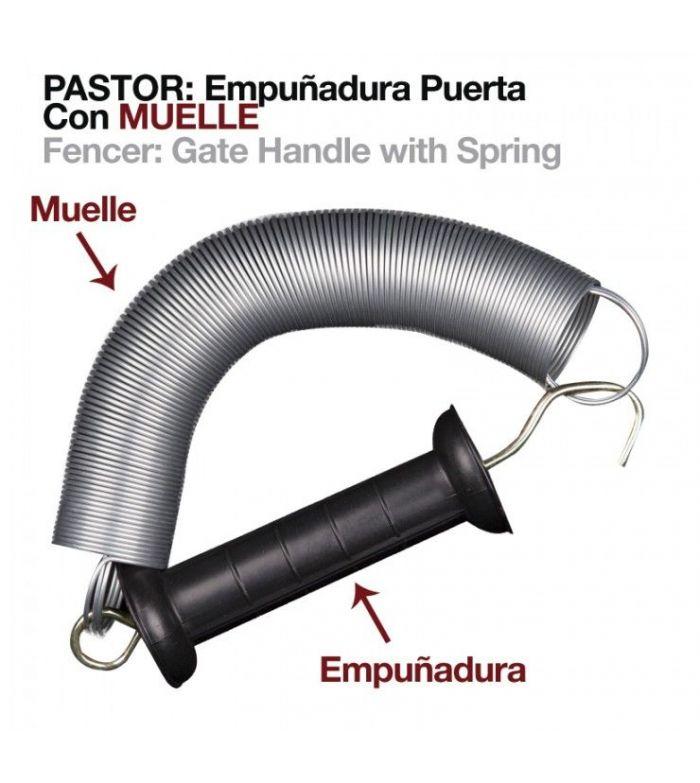 Pastor: Empuñadura Puerta con Muelle 5 m