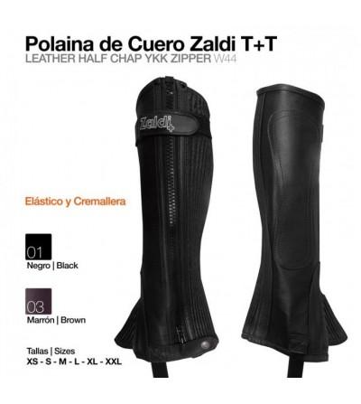 Polaina de Cuero con Elástico Zaldi T+T