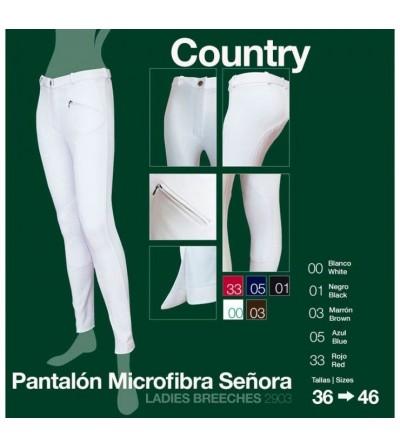 Pantalón Microfibra Country Señora 2903