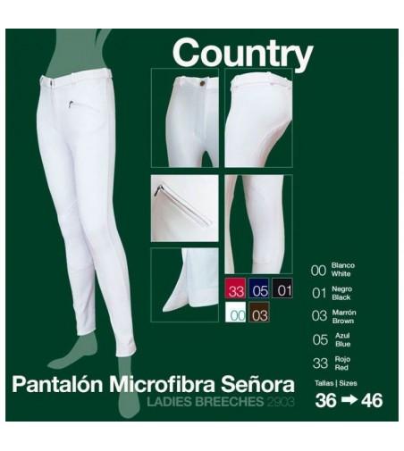 Pantalón de Microfibra Country Señora