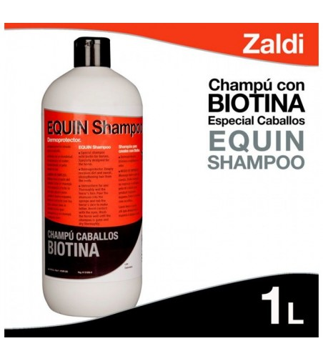 Champú de Biotina para Caballos