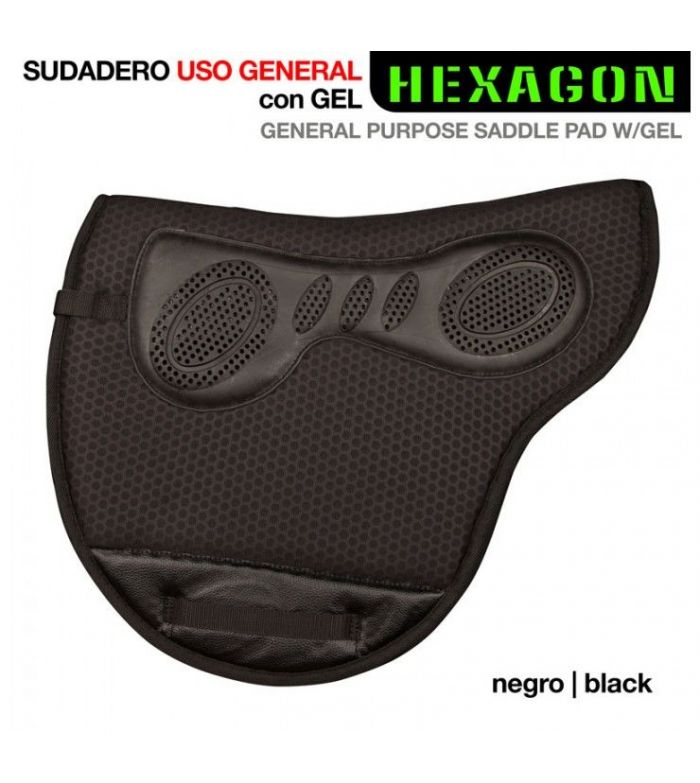 Sudadero Uso General Hexagon con Gel 313131