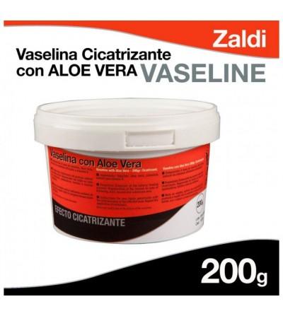 Zaldi Vaselina Cicatrizante con Aloe Vera 200 Gr