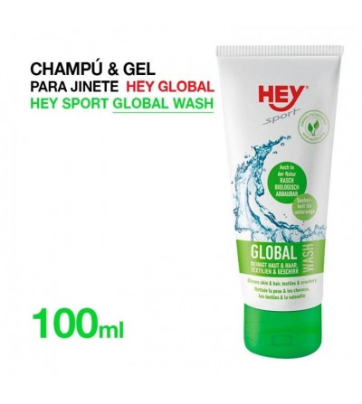 Effol Champú & Gel para Jinete Hey-Global 100M ml