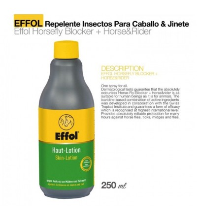 Effol Spray Repelente para Caballo&Jinete 200 ml