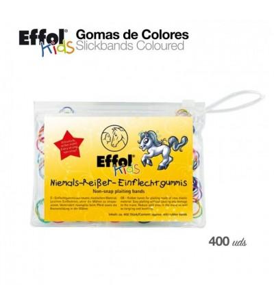 Effol Kids Gomas de Colores 400 uds