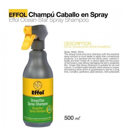 Effol Champú en Spray Ocean Star 750 ml