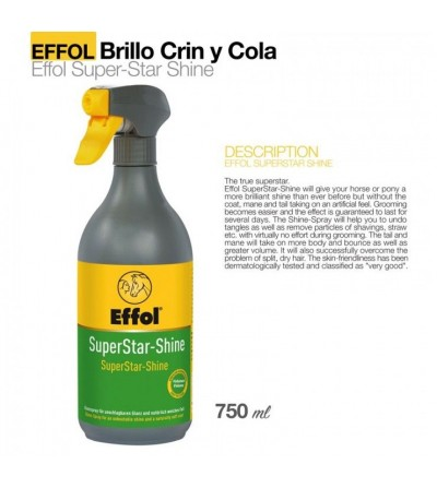 Effol Spray Brillo para Crin y Cola 750 ml