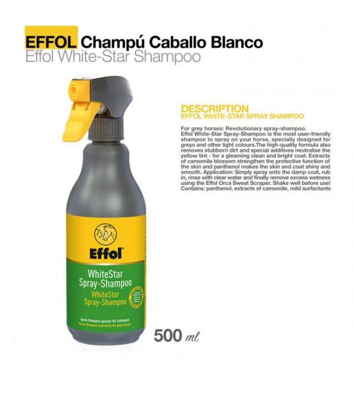 Effol Champú para Caballo Blanco 0.5 L