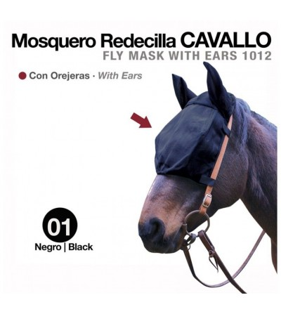 Mosquero Redecilla Cavallo con Orejeras