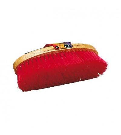 Cepillo de Nylon Ovalado con Cinta Colores