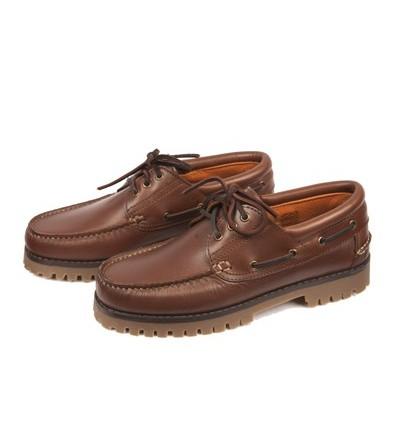 Zapato Naútico Cuero Zaldi