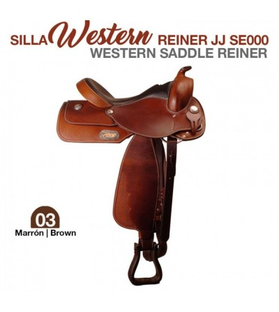 Silla Western Reiner J.J. Marrón