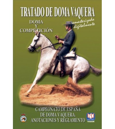 DVD TRATADO DE DOMA VAQUERA CAMPEONATO DE ESPAÑA ANOTACIONES Y REGLAMENTO