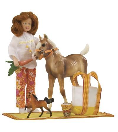 BREYER 1387 - PONY PICNIC - Colección MY FAVORITE HORSE