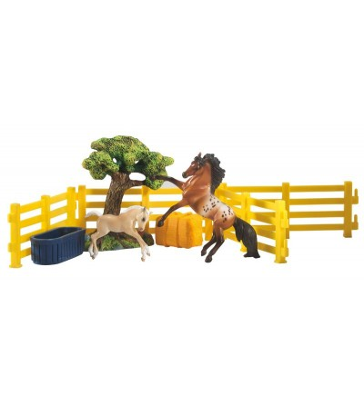 BREYER 5409/591052 - HORSE PLAY SET - Colección STABLEMATES