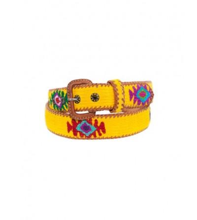 Cinturón Amarillo Adulto Unisex