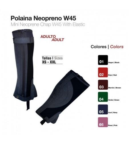 Polaina de Neopreno Adulto W45