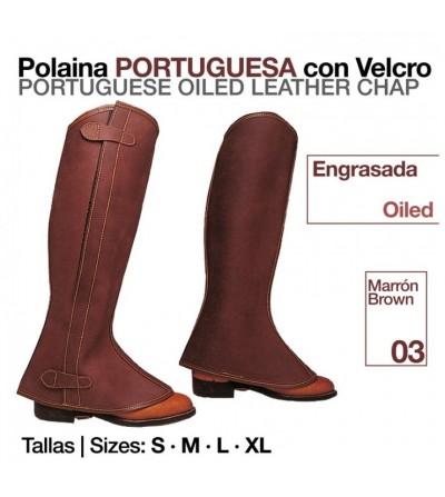 Polaina Portuguesa Engrasada con Velcro