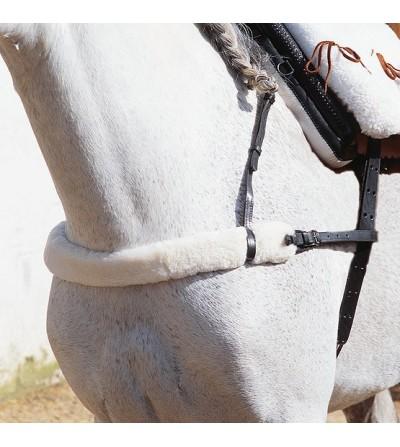 Pechopetral Vaquero con Forro de Borrego Natural