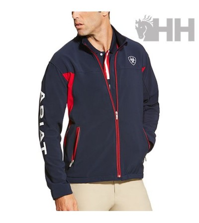 CHAQUETA ARIAT NEW TEAM SOFTSHELL HOMBRE