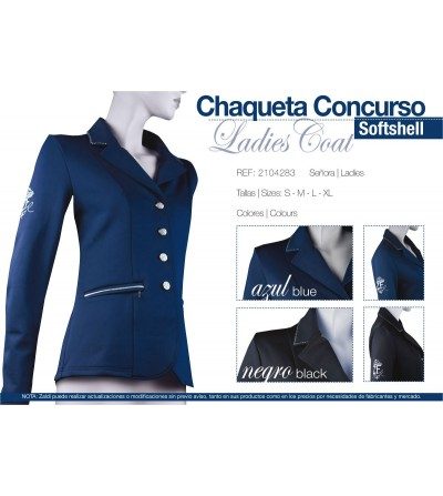 Chaqueta de Concurso Softshell Ladies