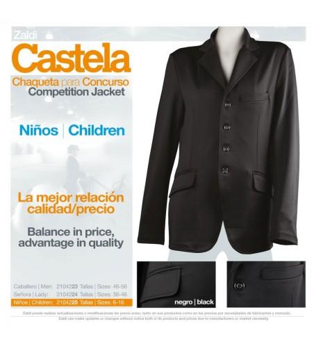 Chaqueta de Concurso Castela Niños Negro