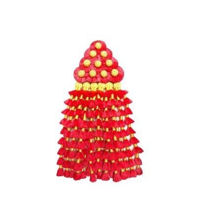 Mosquero de Seda Rojo/Amarillo