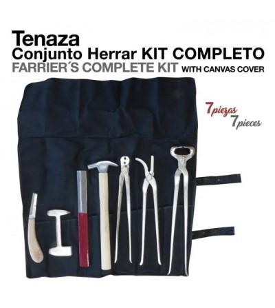 Tenaza Kit Completo para Herrar 7 piezas